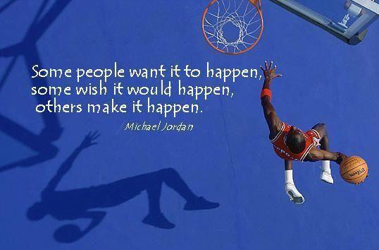 Great wisdom from Michael Jordan