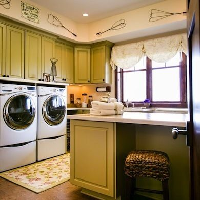 Stackable Washer Dryer Laundry Room Tips