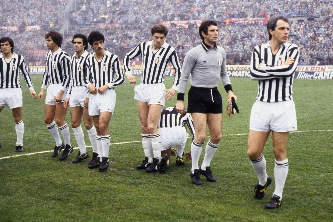 Roberto Bettega Dino Zoff Antonio Cabrini Gaetano Scirea et