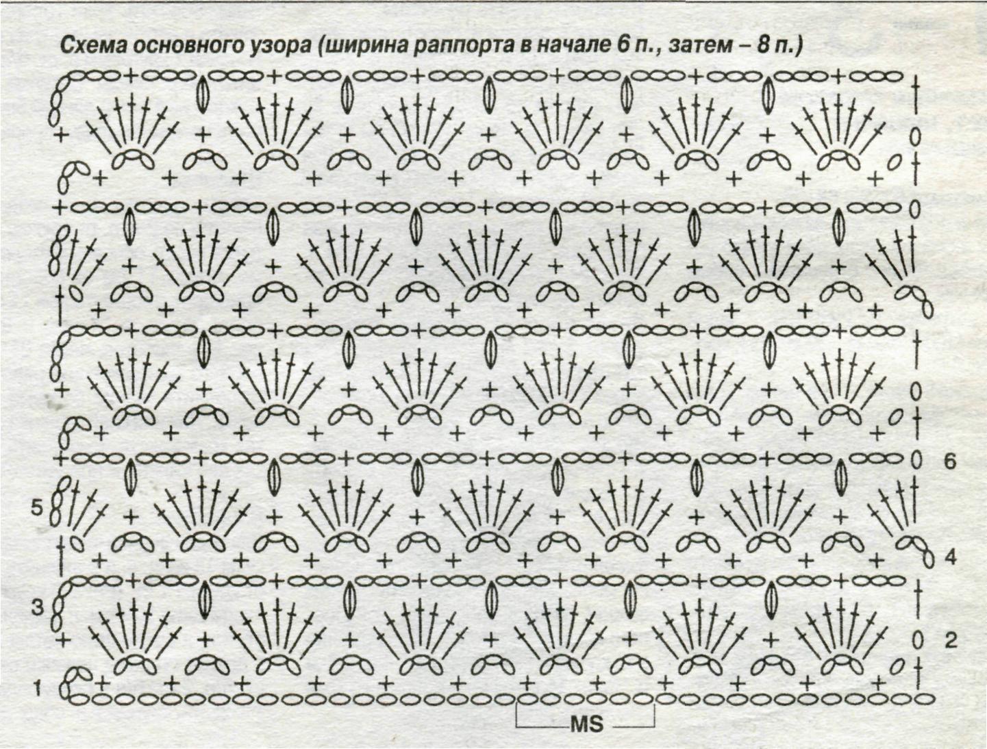 Картинки с схемой вязание крючком