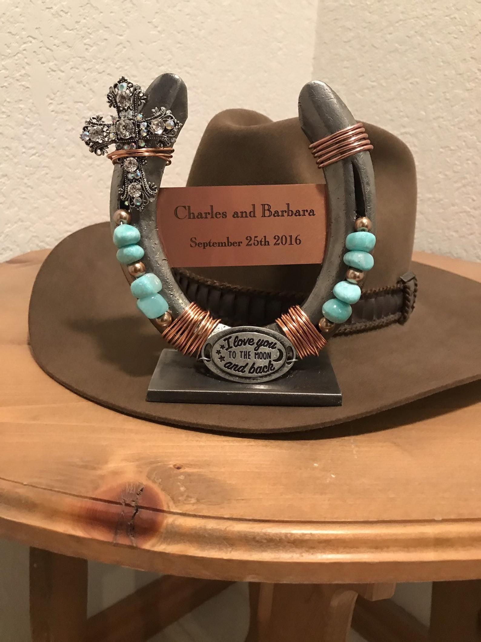 Wedding gift, decorative horseshoe, gift for couple, good