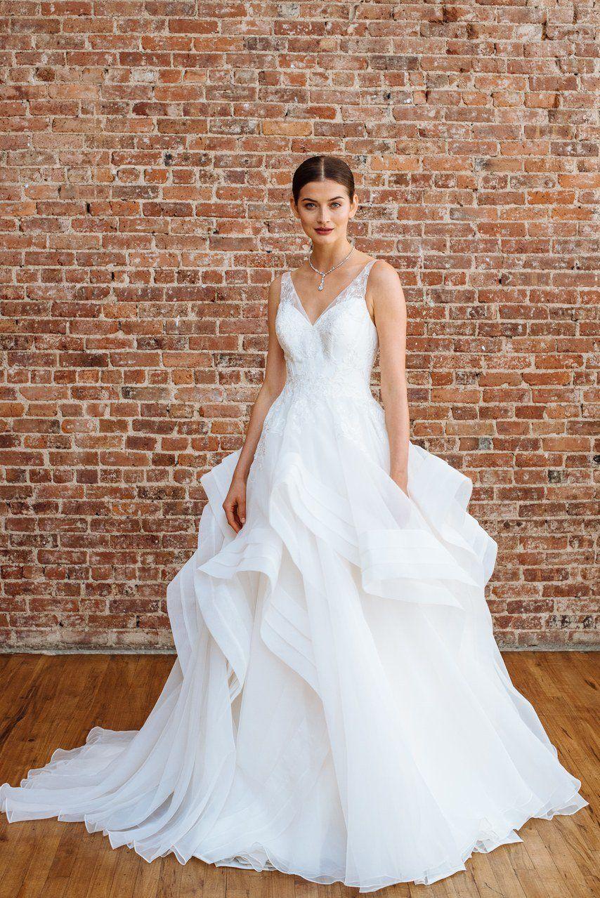 Truly Zac Posen Spring 2018 Spring Wedding Dress Fitted Wedding Dress Wedding Dresses
