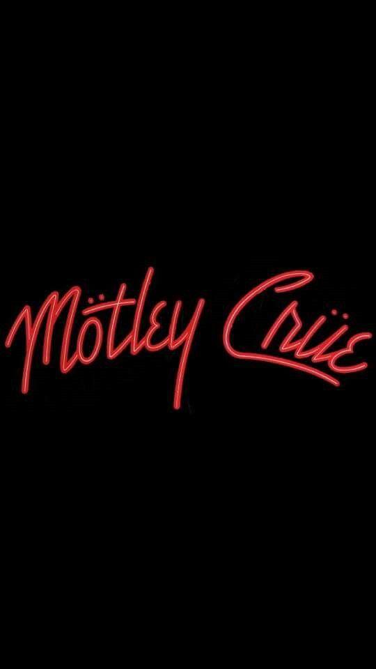 Motley Crue Bumper Sticker NEW Original 1983 NIKKI SIXX