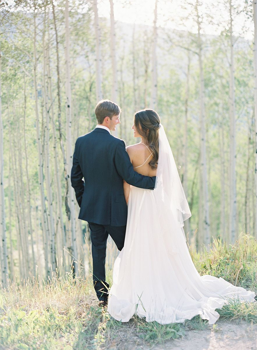 Romantic Summer Wedding At Allie S Cabin Mountain Wedding