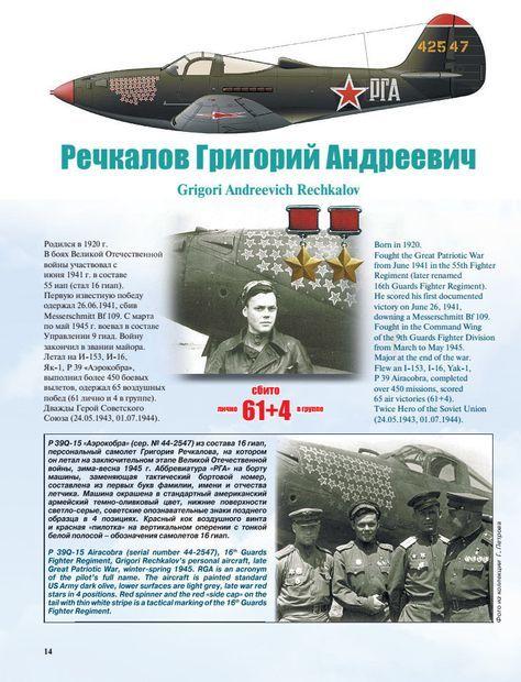 Самолёты советских асов. Боевая раскраска «сталинских ...