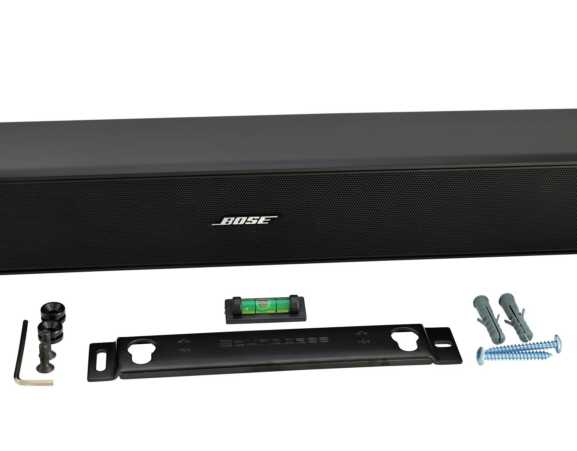 Solo 5 Wall Mount Kit For Bose Solo 5 Complete With All Mounting Hardware Designed In The Uk By Soundbass Kit Bos Sound Bar Sound Bar Wall Mount Wall Mount