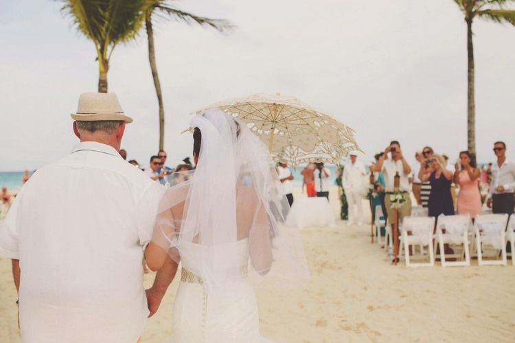 Riu Palace Mexico Wedding - Playa del Carmen, Mexico  wedding photographer- Beach ceremony