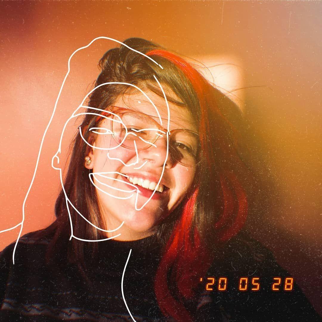 ʰᵃᵖᵖʸ . . . 🔥 . . . 🔥 #red #photos #RS #BR #rose #picsart #art #lineart #line #hair