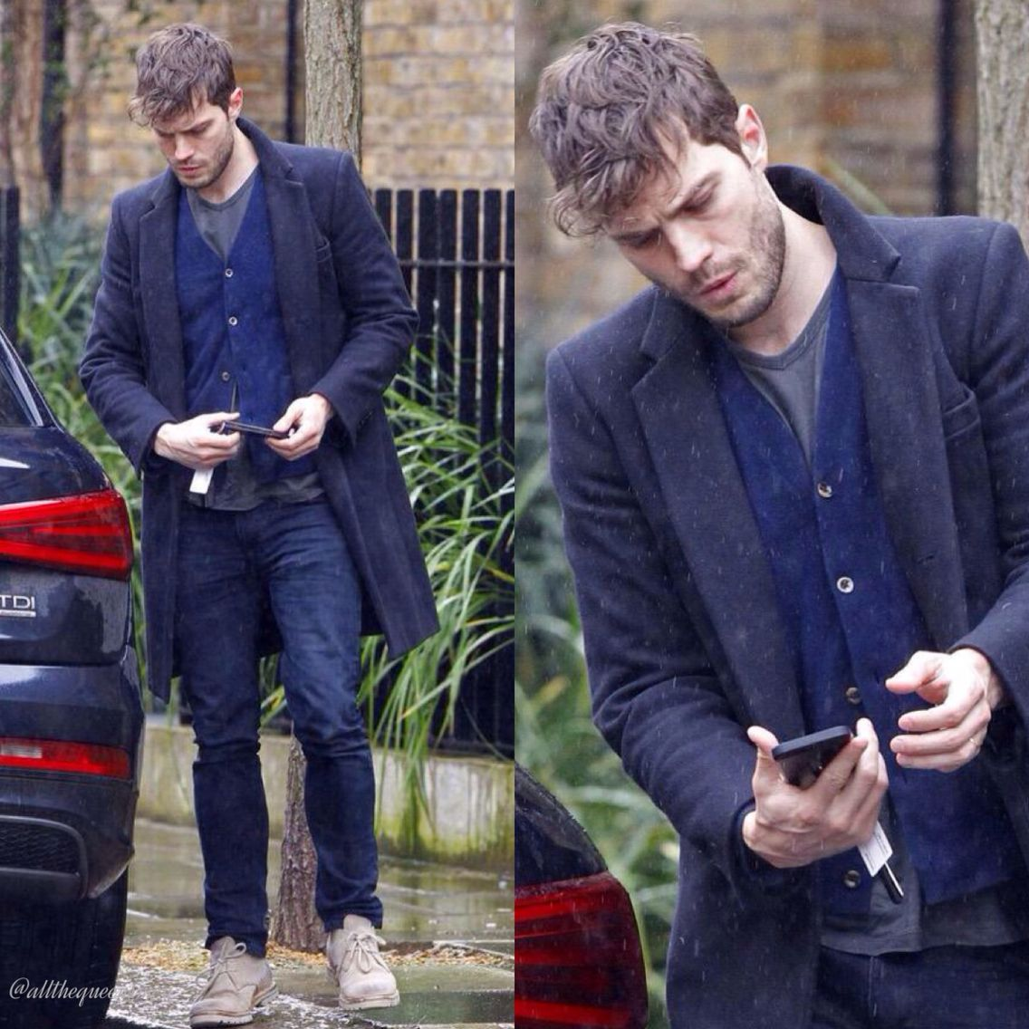 Jamie out and about in London