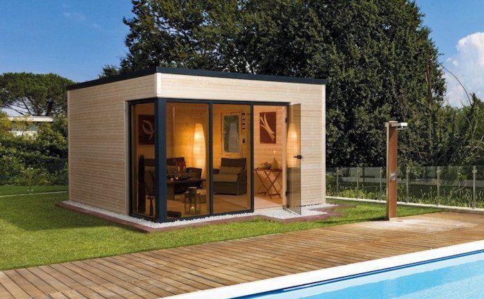Le Top Des Abris De Jardin 45 Idees Design Archzine Fr Cabane Jardin Jardin Moderne Abri De Jardin