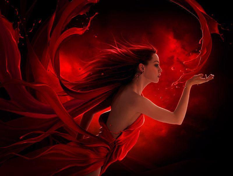 ... red Angel...