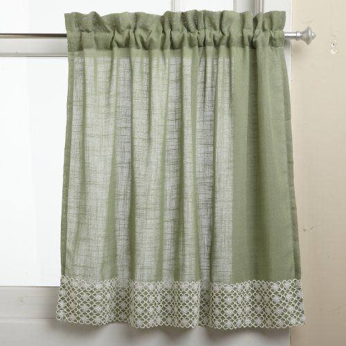 Lorraine Home Fashions Salem 60 Inch X 24 Inch Tier Curtain Pair