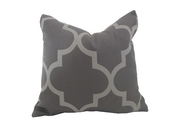 Tonal Grey Pillow by nenavon #Pillow