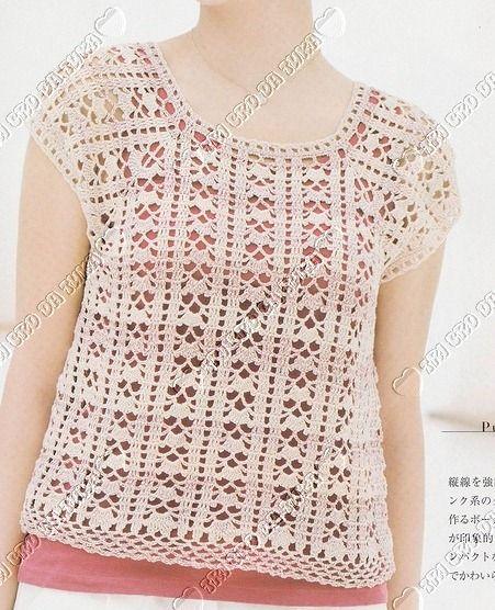 Blusin255b6255dg Image Kaydet Pinterest Crochet