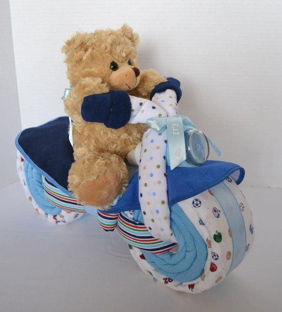 bear baby baby bear Bear diaper cakes baby shower centerpiece unique baby gift bear baby shower