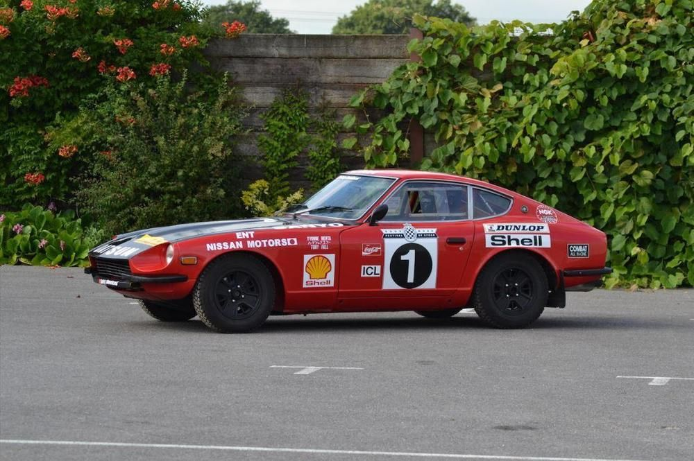eBay 1972 Datsun 240Z Historic Rally Car Owned and