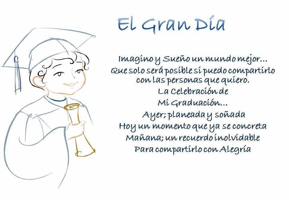 Frases De Graduación De Primaria Para Felicitar Poemas De