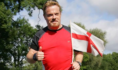 Eddie Izzard - he proved that he really is an action transvestite when he ran 43 marathons in 51 days for Sport Relief in 2010, raising more than £1.8 million.