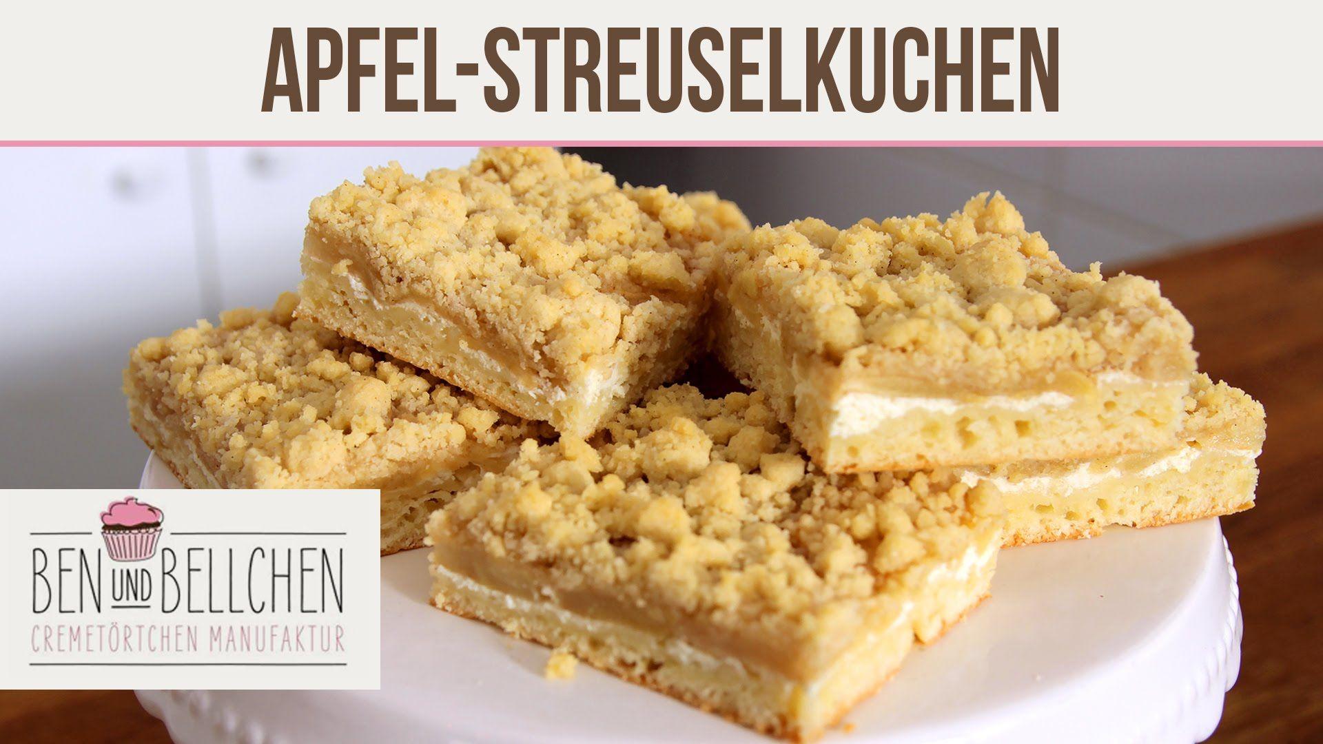 Saftiger Apfel Streuselkuchen Ben Und Bellchen Apfelblechkuchen Mit Streusel Kuchen Und Streuselkuchen