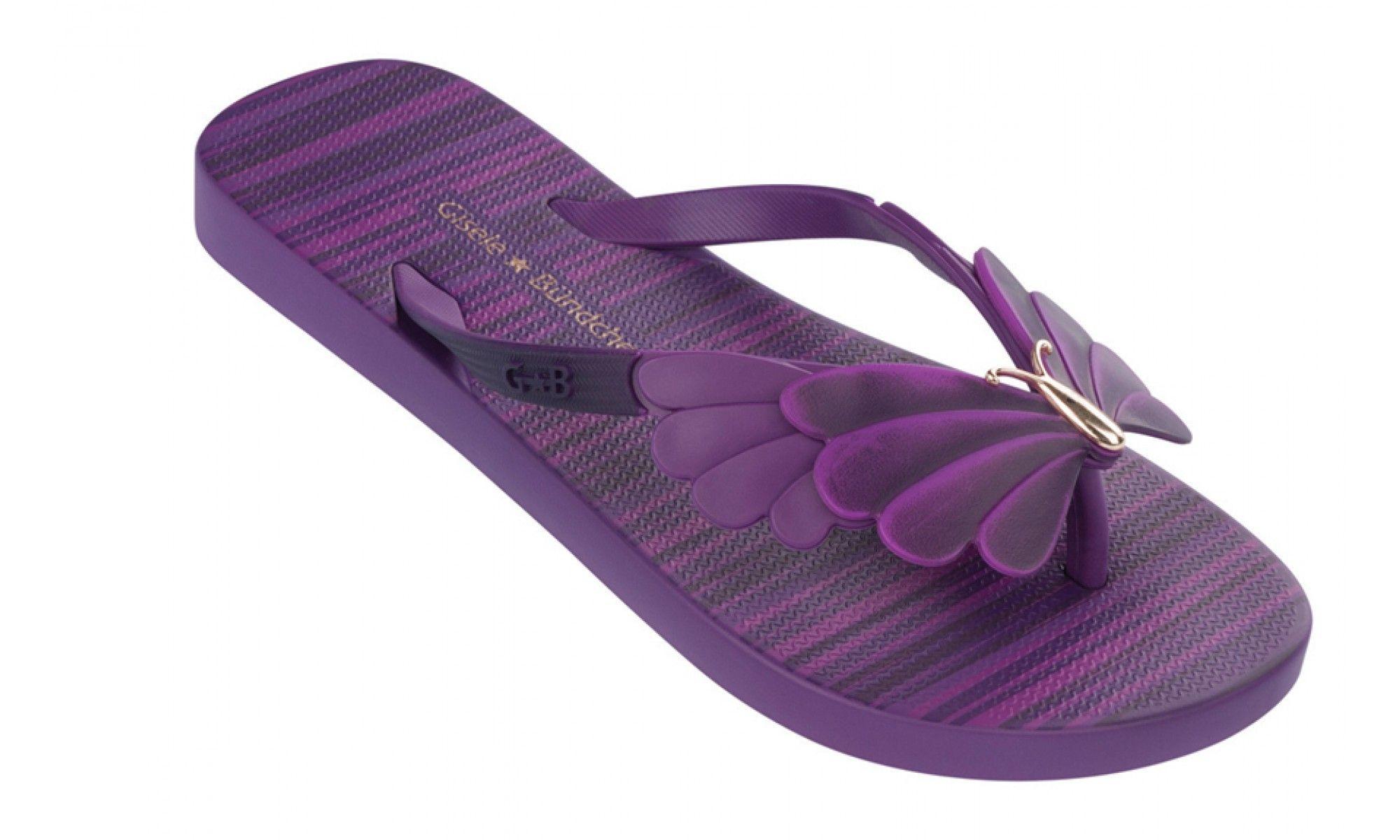 purple flip flops | Home » iPANEMA Gisele Bundchen Sunrise Purple Ladies Flip Flops