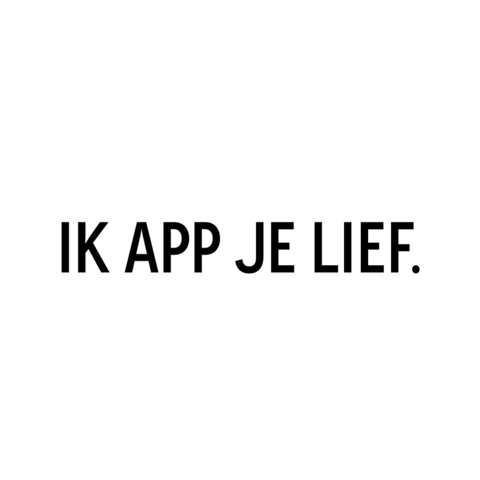 app spreuken ❥ ik app je lief   words   Pinterest   Love Quotes, Quotes and  app spreuken
