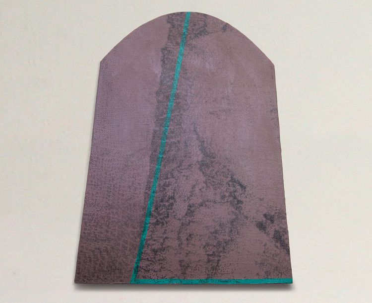 Cicadas #7, Carapace in Deep Purple. Genevieve Chua