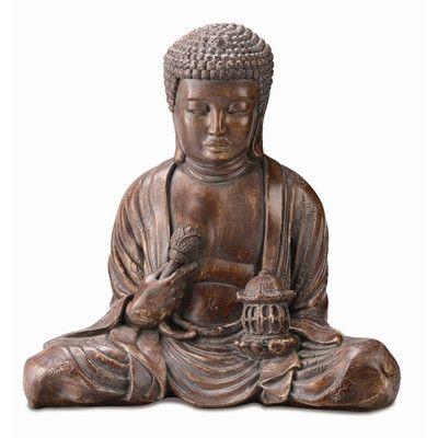 SPI Home Small Buddha Garden Statue | Wayfair