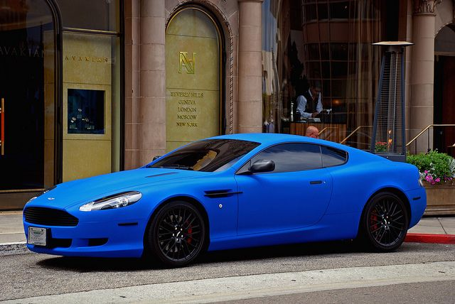Matte Blue DB9 | Cars | Pinterest | Aston martin, Cars and ...