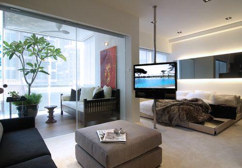Best Apartment Designs Inspiration Apartments Bedrooms And - Cool one bedroom apartment designs