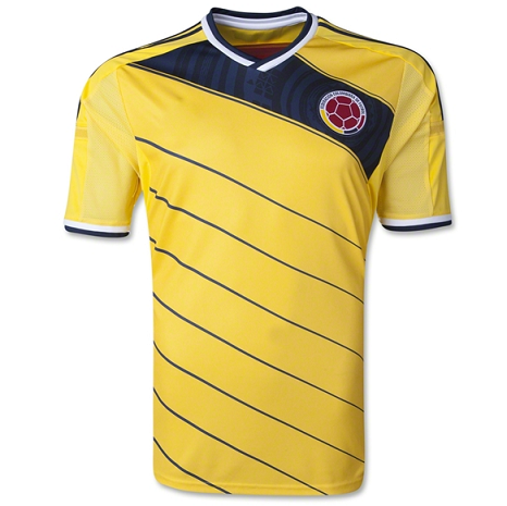 reputable site 7d7d3 275e3 2014 COLOMBIA Soccer Team WORLD CUP YELLOW JERSEY 2014 ...
