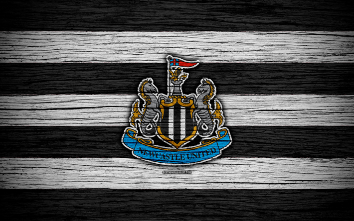 Download Wallpapers Newcastle United, 4k, Premier League
