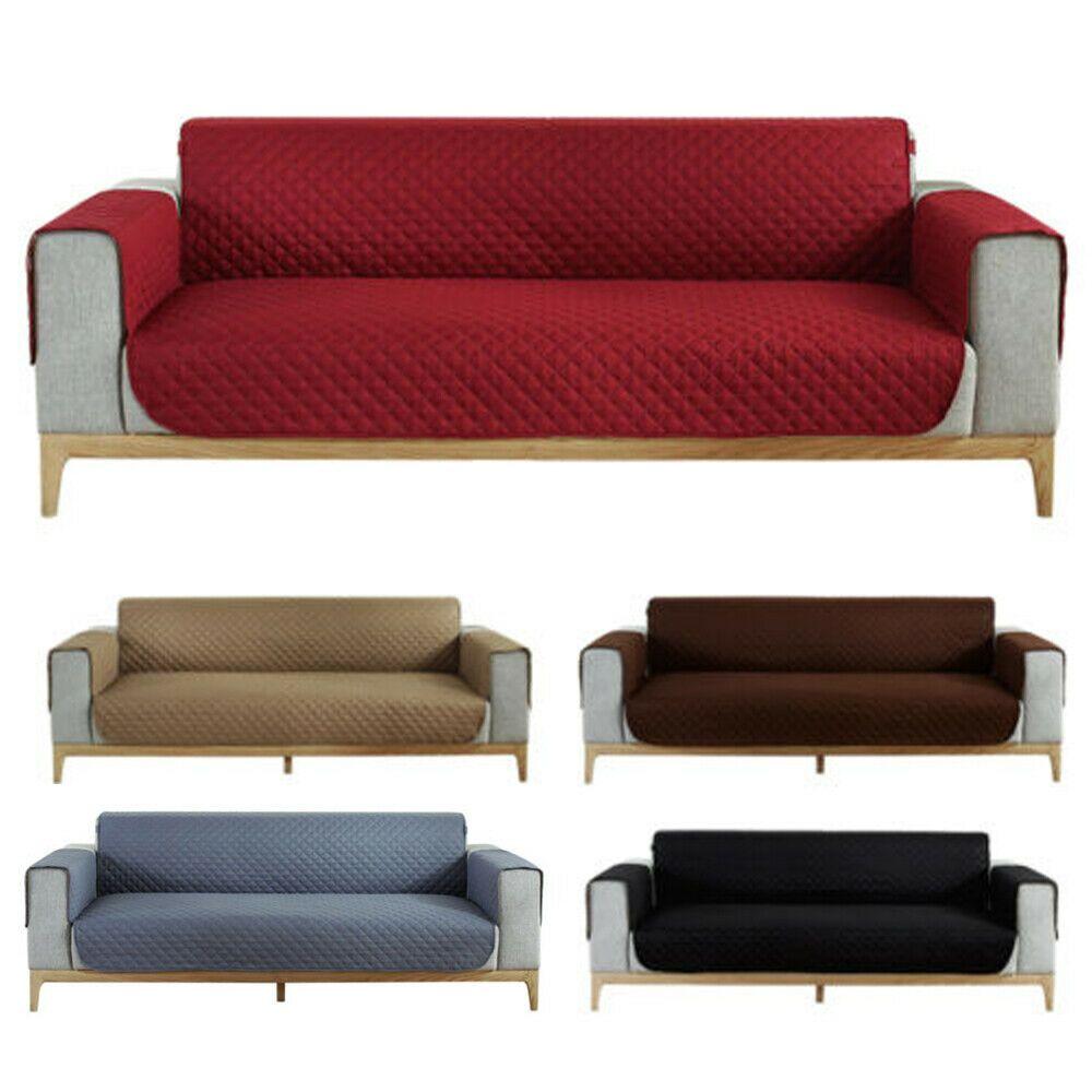 100 Waterproof Sofa Slipcover Cover Protector Couch Pet Dog Kids Mat Anti Slip Sofa Slipcover Ideas Of Sofa Slipcover So In 2020 Slipcovered Sofa Sofa Slipcovers