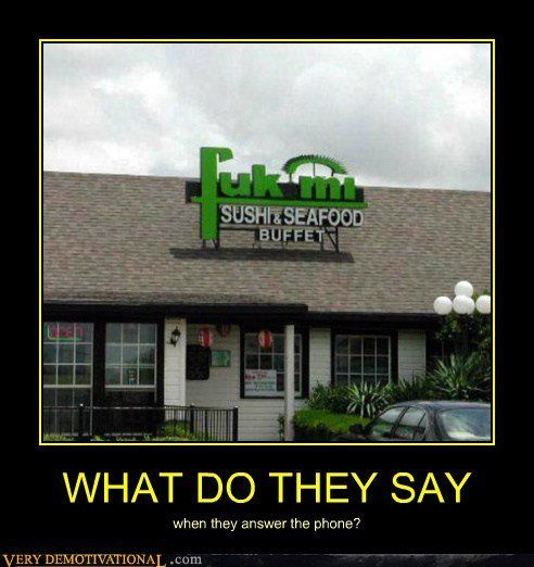 Yes, I would like the house special please! 8.)