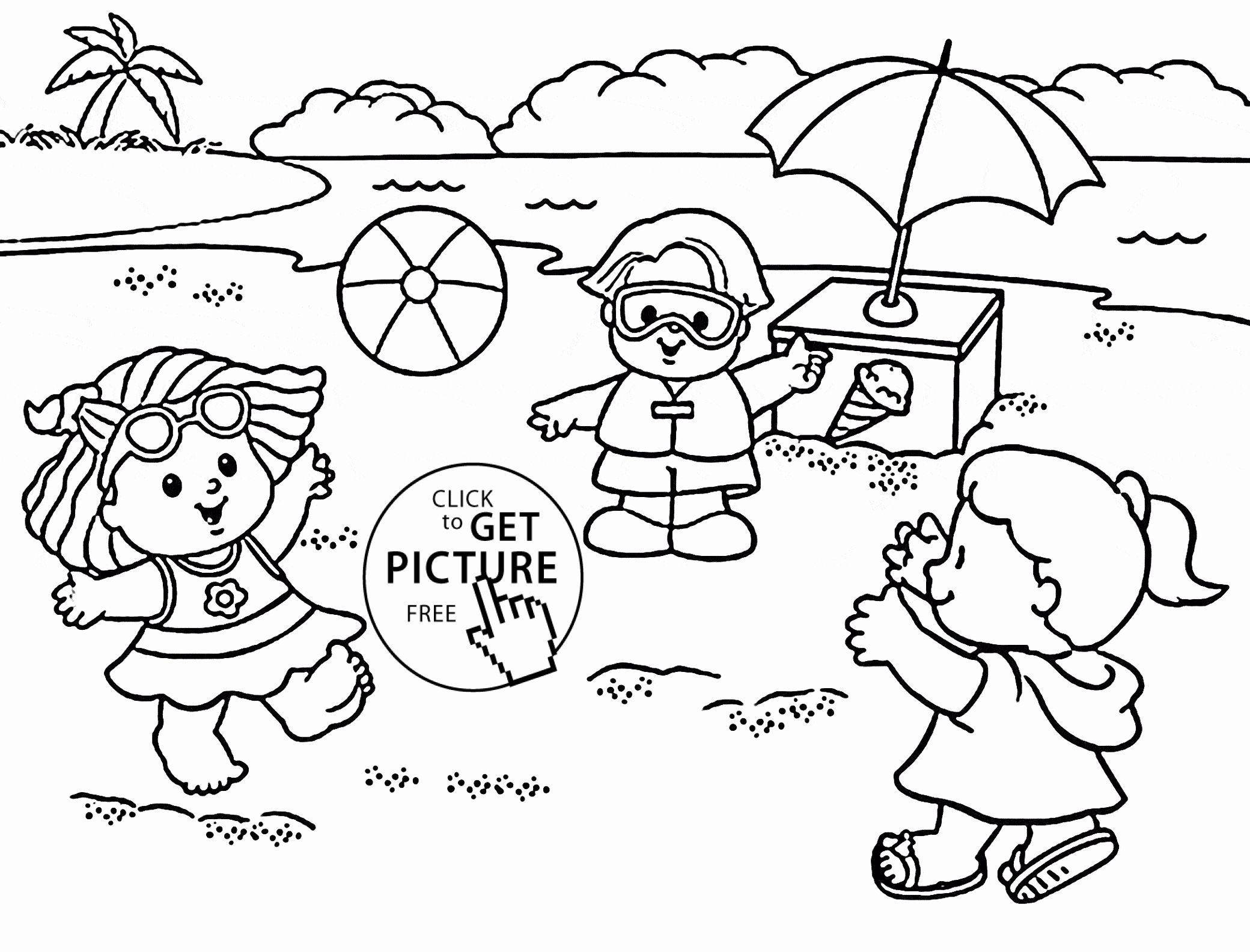 Summer Coloring Pages For Kids Inspirational 27 Summer Season Coloring Pages Part 2 Summer Coloring Pages Beach Coloring Pages Coloring Pages For Kids