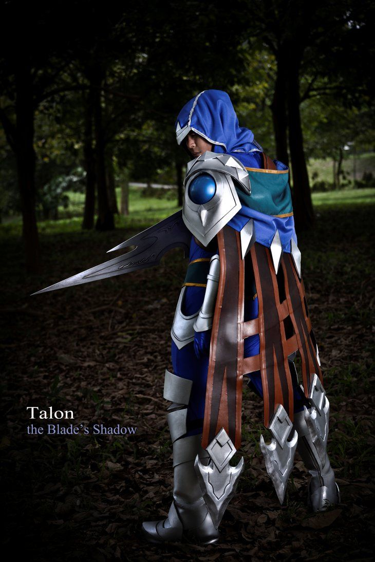 league of legends talon the blade s shadow by jerrystrife7