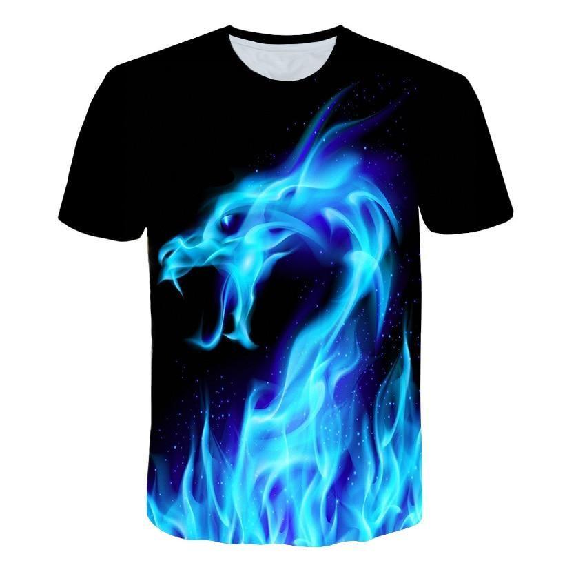 dc49f007db28 BZPOVB Big yards New Fashion Brand T-shirt Men Women Summer 3d Tshirt Print