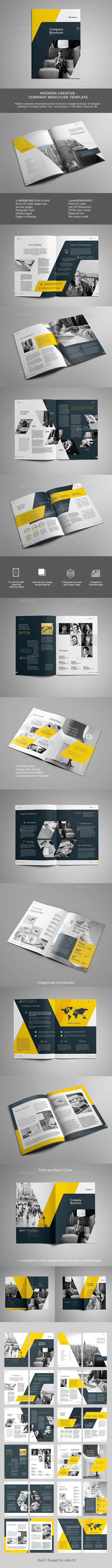The Brochure | Diseño editorial, Carpetas corporativas y Editorial