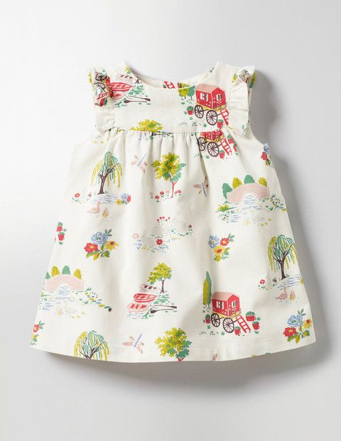 This Pretty Pinafore Is Perfect For Dressing Your Little One On