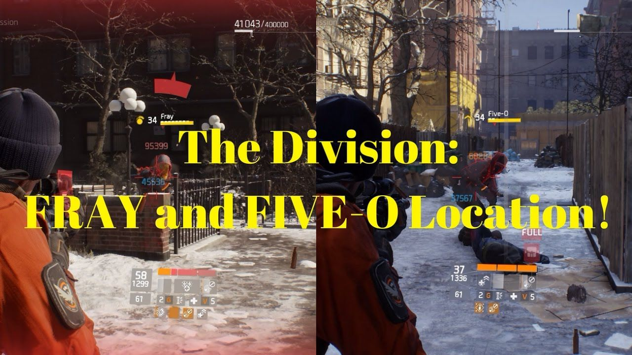The Reason Why I Put Those Two Open World Bosses Fray And Five O Together In One Video Is That They Are Sp Tom Clancy The Division Division Games Division