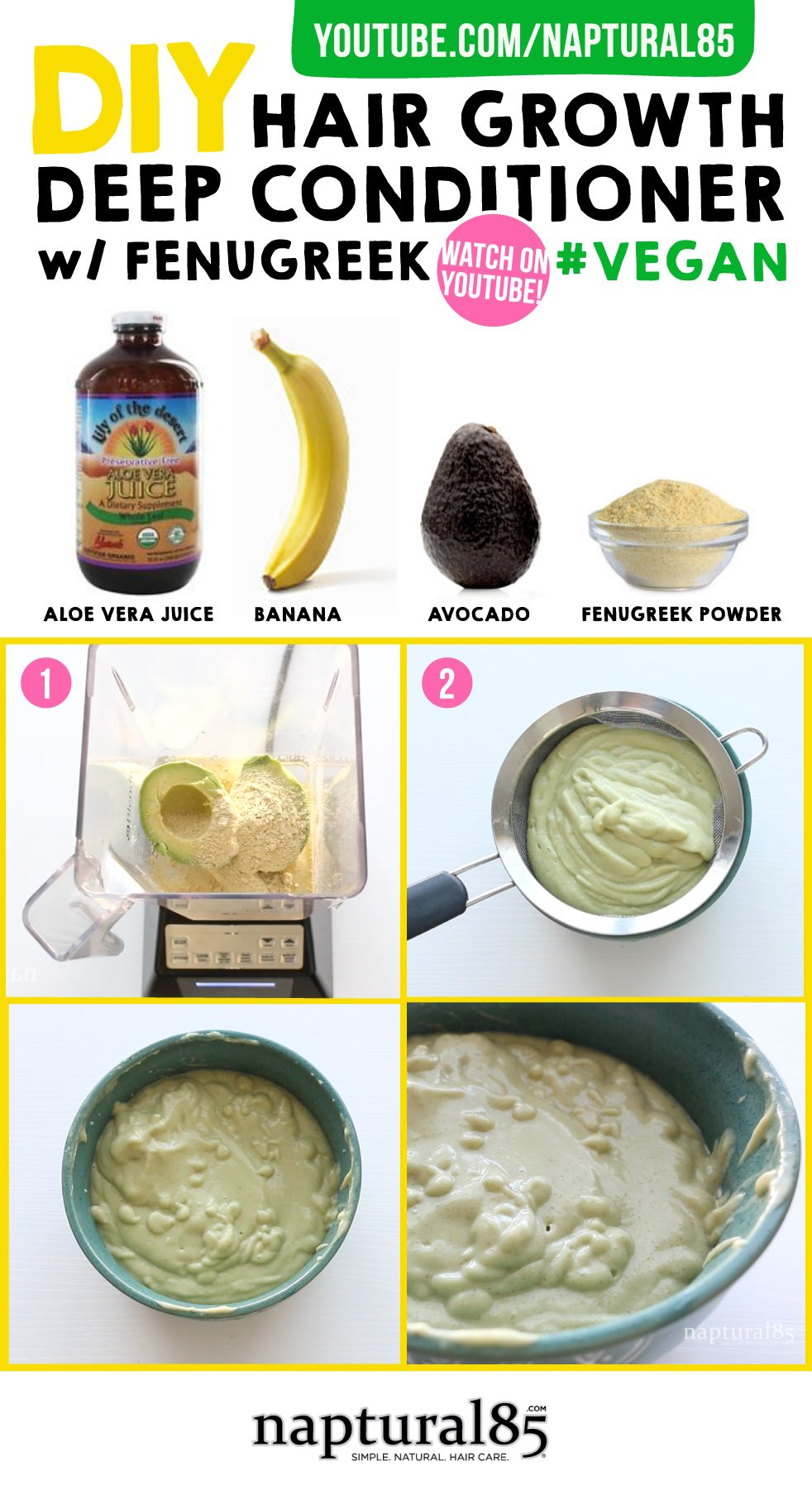 I Ve Been Meaning To Try A Mask With Banana And Avocado Natural Hair Diy Hair Mask For Growth Natural Hair Care Tips