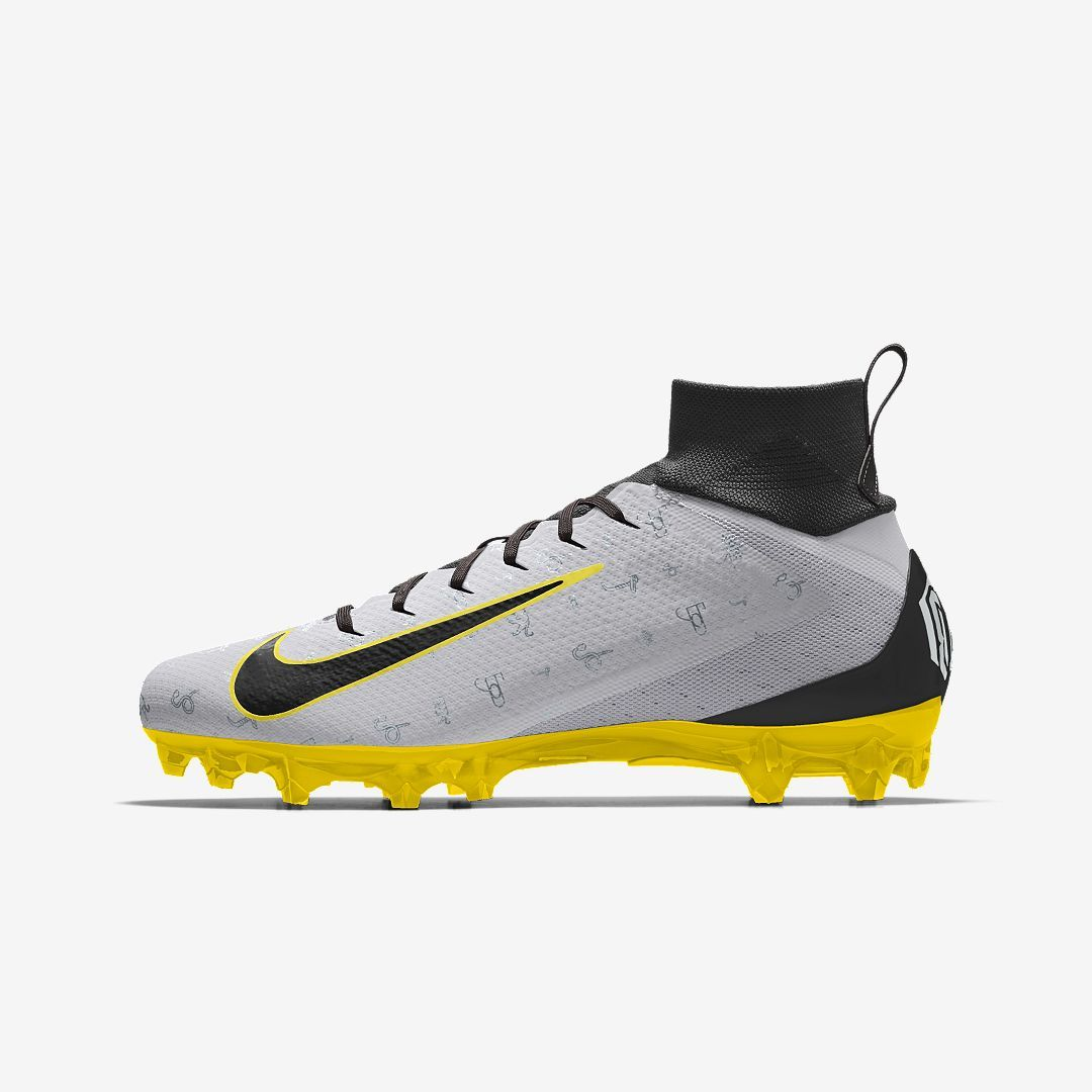 12b636b26adc Nike Vapor Untouchable Pro 3 Premium By You Custom Men's Football Cleat  Size 12 (Multi-Color)