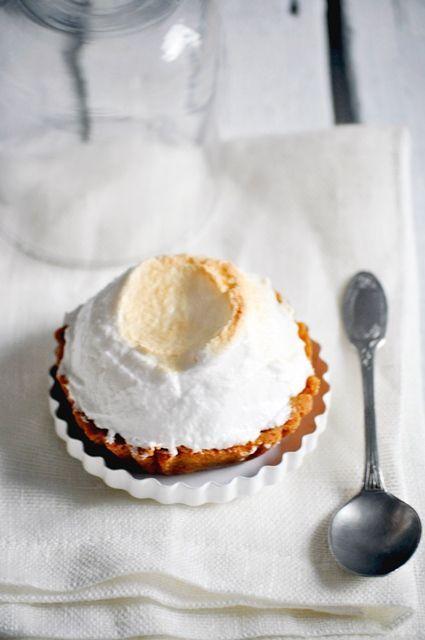 Tartelettes au citron meringuées - Fond de tarte biscuité - Super lemon tartlets