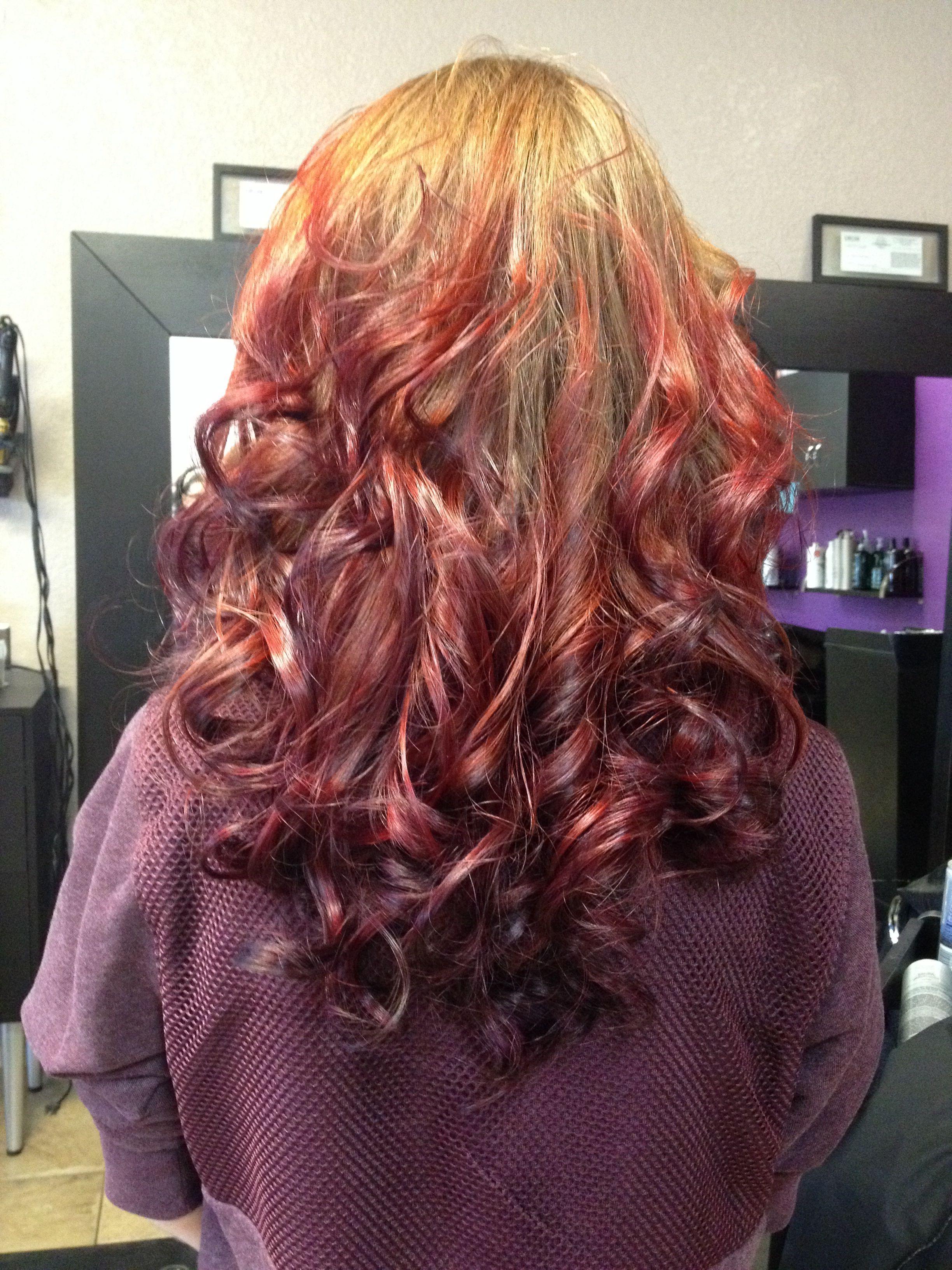 Pin By Lindsay Meyer On Hair Ideas Ombre Hair Color Natural Red Hair Hair Color Auburn