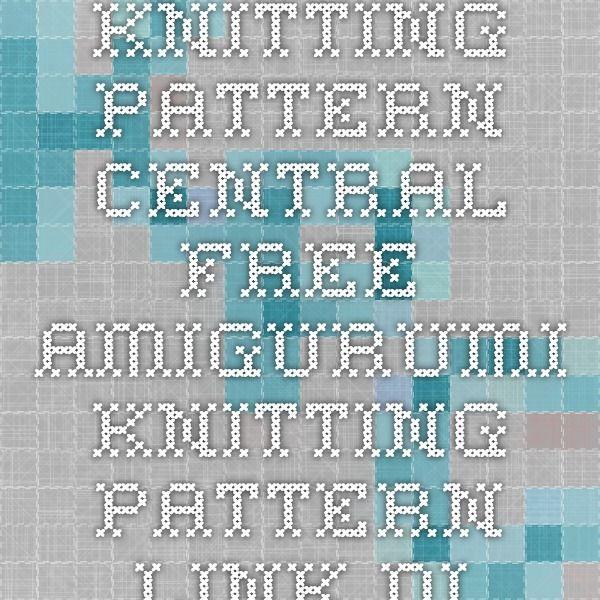 Knitting Pattern Central Free Amigurumi Knitting Pattern Link