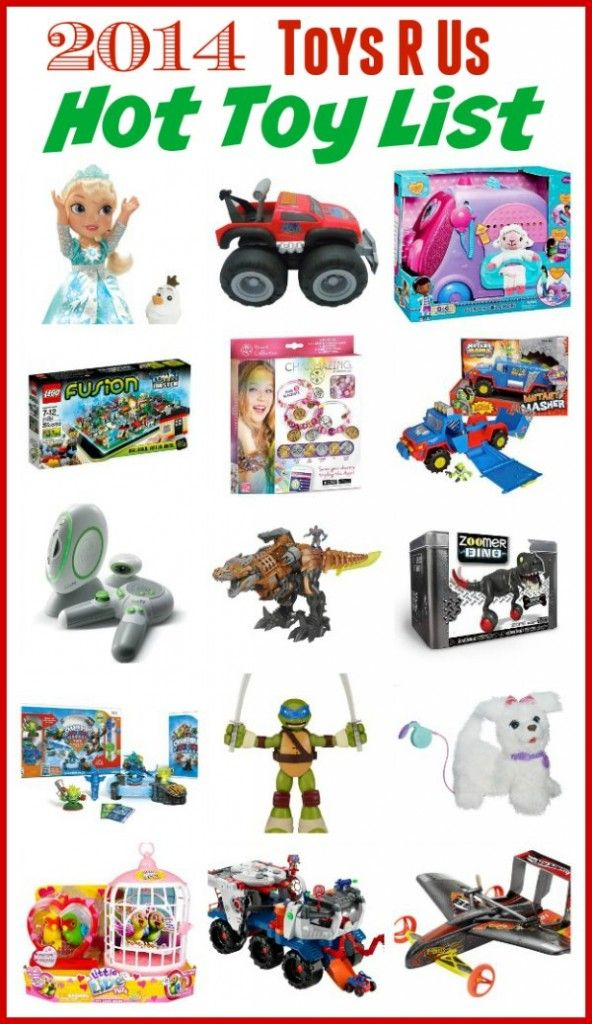Revealing The 2014 Toys R Us Hot Toy List Mommy Evolution