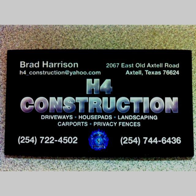 H4 Condtruction