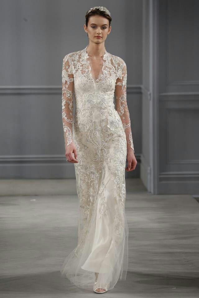 Monique Lhuillier at Bridal Week Spring 2014