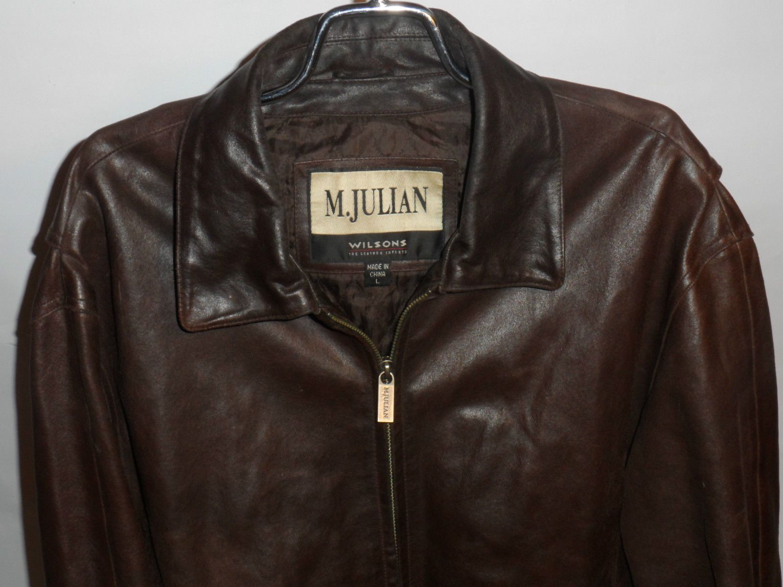 M Julian Wilsons Leather Jacket Classic Vintage Apparel