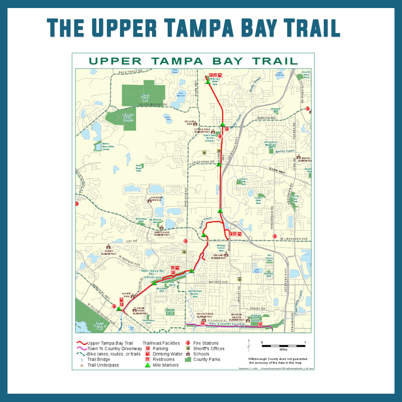 The Upper Tampa Bay Bike Trail Bike Trail Tampa Bay University