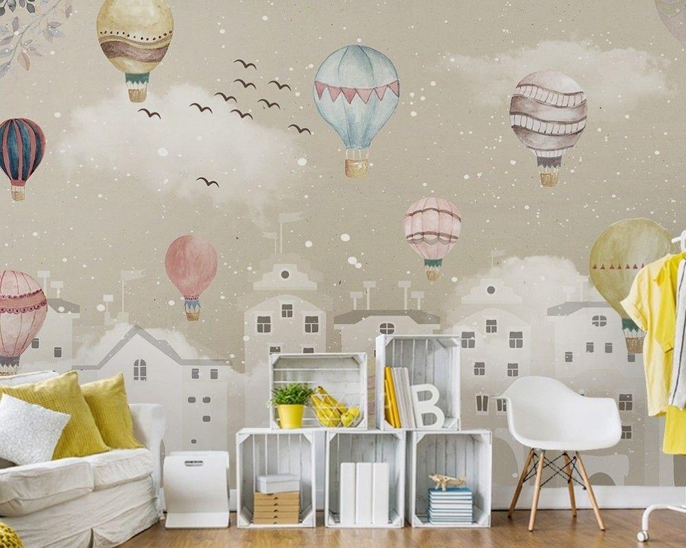 Hot Air Balloon Wallpaper Mural